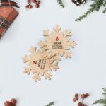 Snowflake საჩუქარი პერსონალური